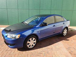 2009 Mitsubishi Lancer CJ MY09 ES Blue 6 Speed CVT Auto Sequential Sedan.