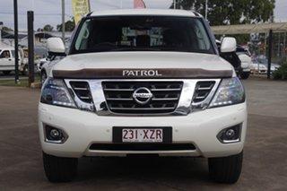 2018 Nissan Patrol Y62 Series 4 TI-L Ivory Pearl 7 Speed Sports Automatic Wagon