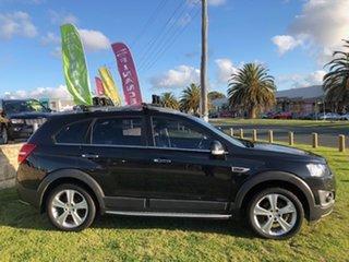 2014 Holden Captiva CG MY14 7 AWD LTZ Black 6 Speed Sports Automatic Wagon.
