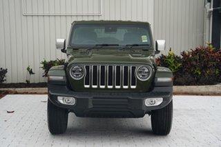 2021 Jeep Wrangler JL MY21 Overland Velvet Red 8 Speed Automatic Hardtop.