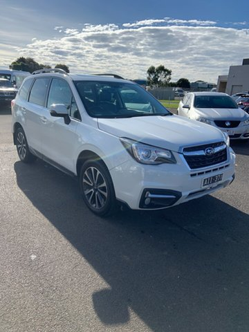 Used Subaru Forester S4 MY16 2.5i-S CVT AWD Warrnambool East, 2016 Subaru Forester S4 MY16 2.5i-S CVT AWD White 6 Speed Constant Variable Wagon