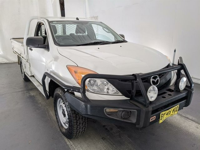 Used Mazda BT-50 UP0YF1 XT Maryville, 2013 Mazda BT-50 UP0YF1 XT White 6 Speed Manual Cab Chassis