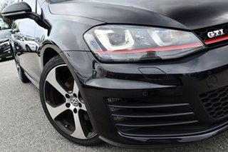 2016 Volkswagen Golf VII MY16 GTI DSG Black 6 Speed Sports Automatic Dual Clutch Hatchback.