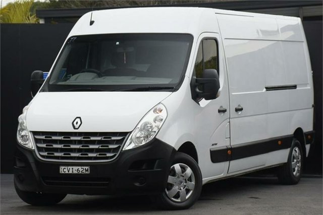 Used Renault Master X62 Mid Roof LWB AMT Campbelltown, 2014 Renault Master X62 Mid Roof LWB AMT White 6 Speed Sports Automatic Single Clutch Van