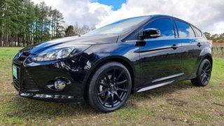 2014 Ford Focus LW MkII MY14 Sport PwrShift Black/Grey 6 Speed Sports Automatic Dual Clutch