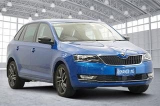 2019 Skoda Rapid NH MY19 Spaceback DSG Blue 7 Speed Sports Automatic Dual Clutch Hatchback.