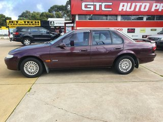 1995 Ford Fairmont EF II Ghia Burgundy 4 Speed Automatic Sedan