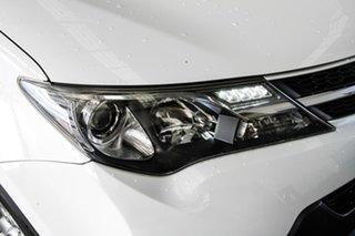 2015 Toyota RAV4 ASA44R MY14 Upgrade GX (4x4) Glacier White 6 Speed Automatic Wagon