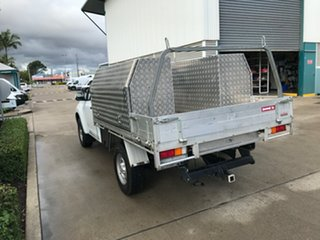 2016 Isuzu D-MAX MY15.5 SX 4x2 High Ride White 5 speed Automatic Cab Chassis