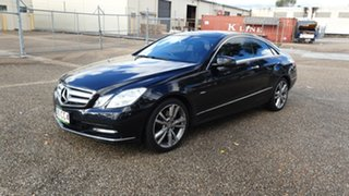2011 Mercedes-Benz E250 207 CDI Elegance Black 5 Speed Automatic Coupe