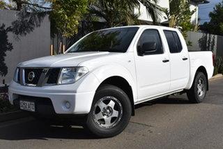 2011 Nissan Navara D40 MY11 RX 4x2 White 5 Speed Automatic Utility.