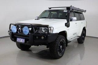 2016 Nissan Patrol GU Series 10 ST N-TEC (4x4) White 4 Speed Automatic Wagon.