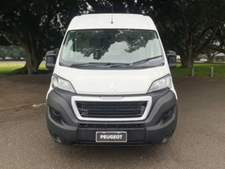 2020 Peugeot Boxer X250 MY20 160 Mid Roof LWB HDi Blanc Banquise 6 Speed Manual Van.