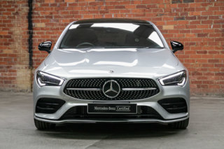 2020 Mercedes-Benz CLA-Class C118 800+050MY CLA250 D-CT 4MATIC Iridium Silver 7 Speed.