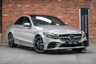 2021 Mercedes-Benz C-Class W205 801MY C300 9G-Tronic Mojave Silver 9 Speed Sports Automatic Sedan.