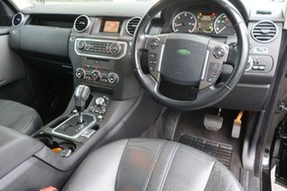 2009 Land Rover Discovery 4 Series 4 10MY TdV6 CommandShift SE Black 6 Speed Sports Automatic Wagon