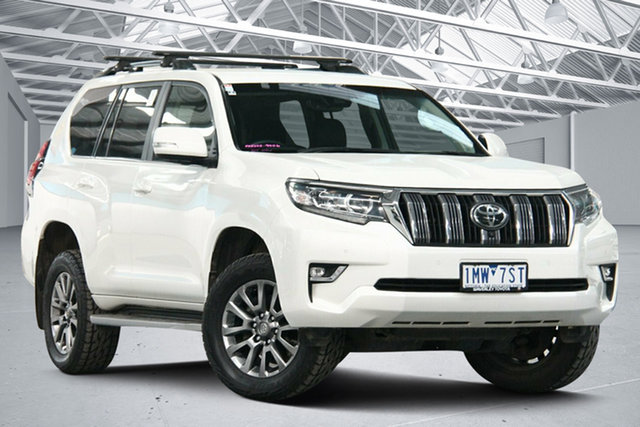 Used Toyota Landcruiser Prado GDJ150R MY17 VX (4x4) Altona North, 2018 Toyota Landcruiser Prado GDJ150R MY17 VX (4x4) White 6 Speed Automatic Wagon