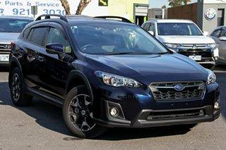 2018 Subaru XV G5X MY18 2.0i Premium Lineartronic AWD Blue 7 Speed Constant Variable Wagon.