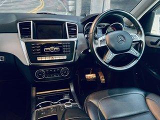 2012 Mercedes-Benz M-Class W166 ML250 BlueTEC 7G-Tronic + White 7 Speed Sports Automatic Wagon.