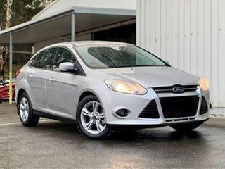 2013 Ford Focus LW MkII Trend PwrShift Silver 6 Speed Sports Automatic Dual Clutch Sedan.
