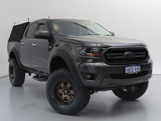 2018 Ford Ranger PX MkIII MY19 XLS 3.2 (4x4) Grey 6 Speed Automatic Double Cab Pick Up.