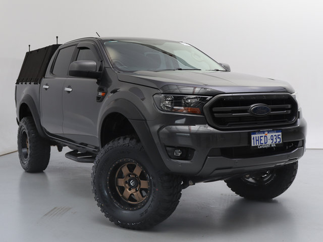 Used Ford Ranger PX MkIII MY19 XLS 3.2 (4x4), 2018 Ford Ranger PX MkIII MY19 XLS 3.2 (4x4) Grey 6 Speed Automatic Double Cab Pick Up