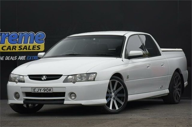 Used Holden Crewman VY II SS Campbelltown, 2003 Holden Crewman VY II SS White 4 Speed Automatic Utility