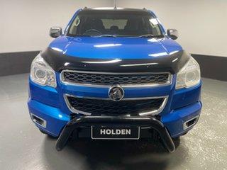 2016 Holden Colorado RG MY16 LTZ Crew Cab Blue 6 Speed Manual Utility.