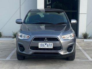 2013 Mitsubishi ASX XB MY14 2WD Grey 6 Speed Constant Variable Wagon.