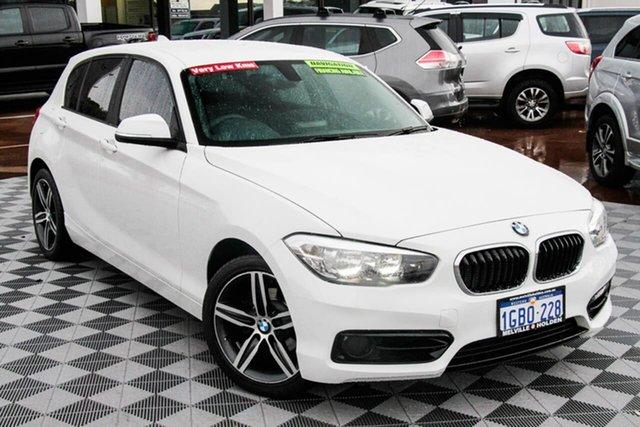 Used BMW 1 Series F20 LCI 118i Steptronic Sport Line Attadale, 2016 BMW 1 Series F20 LCI 118i Steptronic Sport Line White 8 Speed Sports Automatic Hatchback