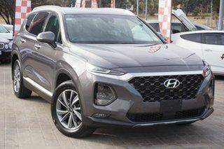 2018 Hyundai Santa Fe TM MY19 Elite White 8 Speed Sports Automatic Wagon.