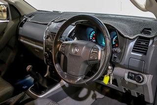 2013 Holden Colorado RG MY14 LX Crew Cab White 6 Speed Manual Utility