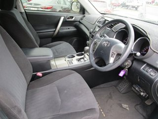 2013 Toyota Kluger GSU45R MY12 KX-R AWD Silver 5 Speed Sports Automatic Wagon