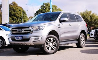 2017 Ford Everest UA 2018.00MY Trend Silver 6 Speed Sports Automatic SUV.