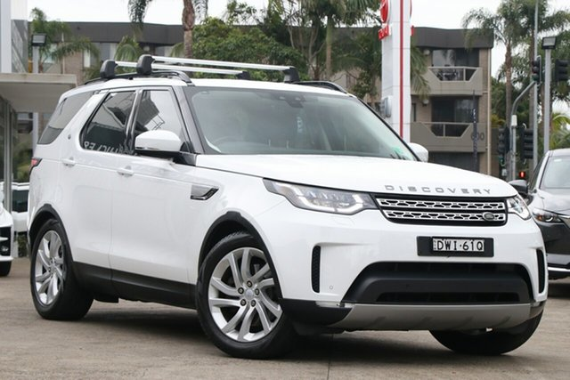 Pre-Owned Land Rover Discovery Series 5 L462 MY17 TD6 HSE Mosman, 2017 Land Rover Discovery Series 5 L462 MY17 TD6 HSE White 8 Speed Sports Automatic Wagon