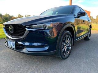 2019 Mazda CX-5 KF Series Akera Blue Sports Automatic Wagon.
