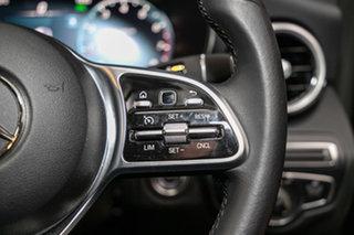 2020 Mercedes-Benz C-Class W205 801MY C200 9G-Tronic Black 9 Speed Sports Automatic Sedan