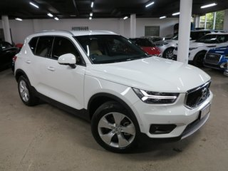 2019 Volvo XC40 XZ MY19 T4 Momentum White 8 Speed Sports Automatic Wagon.