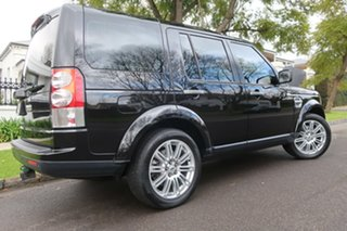 2009 Land Rover Discovery 4 Series 4 10MY TdV6 CommandShift SE Black 6 Speed Sports Automatic Wagon.