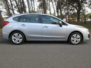 2012 Subaru Impreza G4 MY12 2.0i Lineartronic AWD Ice Silver 6 Speed Constant Variable Hatchback.