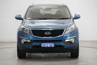 2014 Kia Sportage SL MY14 Platinum AWD Blue 6 Speed Sports Automatic Wagon.