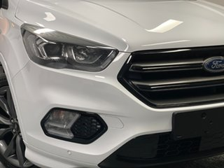 2019 Ford Escape ZG 2019.25MY ST-Line White 6 Speed Sports Automatic SUV.