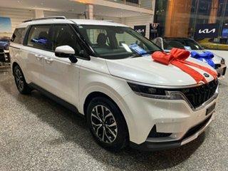 2021 Kia Carnival KA4 MY21 SI Snow White Pearl 8 Speed Semi Auto Wagon.