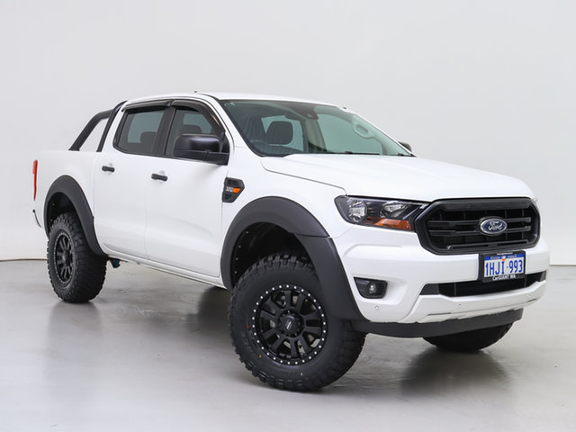 Used Ford Ranger PX MkIII MY21.25 XLS 3.2 (4x4), 2020 Ford Ranger PX MkIII MY21.25 XLS 3.2 (4x4) White 6 Speed Automatic Double Cab Pick Up