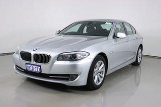 2011 BMW 520d F10 MY11 Silver 8 Speed Automatic Sedan.