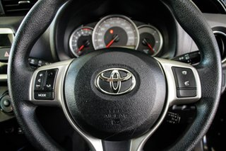2015 Toyota Yaris NCP130R MY15 Ascent Ink 4 Speed Automatic Hatchback