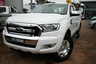 2018 Ford Ranger PX MkII MY18 XLT 3.2 (4x4) White 6 Speed Automatic Super Cab Utility.