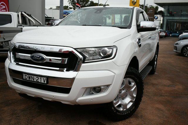 Used Ford Ranger PX MkII MY18 XLT 3.2 (4x4) Brookvale, 2018 Ford Ranger PX MkII MY18 XLT 3.2 (4x4) White 6 Speed Automatic Super Cab Utility
