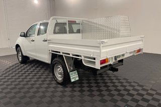 2016 Isuzu D-MAX MY15 SX Crew Cab White 5 speed Automatic Cab Chassis