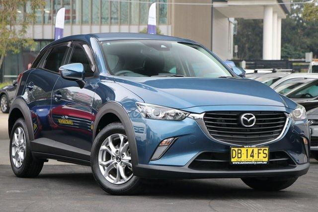 Used Mazda CX-3 DK2W7A Maxx SKYACTIV-Drive Zetland, 2017 Mazda CX-3 DK2W7A Maxx SKYACTIV-Drive Blue 6 Speed Sports Automatic Wagon